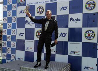Podio gara 1, Carlo Gozzi (Bmw M3 SP #118) , TCR ITALY TOURING CAR CHAMPIONSHIP