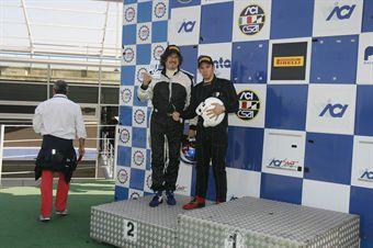 Podio gara 1, Barin Barin (MM Motorsport,SEAT Leon B2.OT #105) , TCR ITALY TOURING CAR CHAMPIONSHIP