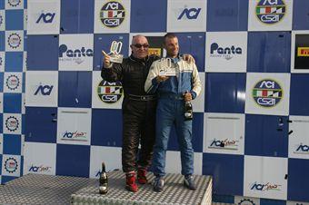 Podio gara 2, Semeraro Scarpellini (PBS Team, Alfa Romeo 159 #119) , TCR ITALY TOURING CAR CHAMPIONSHIP