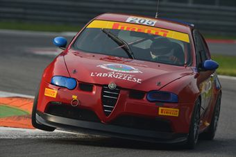 Giorgio Fantilli (Alfa Romeo 147 Cup B24H2.0 #205) , TCR ITALY TOURING CAR CHAMPIONSHIP