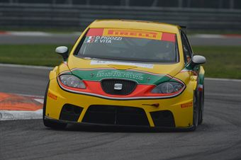 Pigozzi Vita ( PAI Srl,Seat Leon Cupra SP #103), TCR ITALY TOURING CAR CHAMPIONSHIP