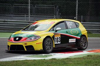 Pigozzi Vita ( PAI Srl,Seat Leon Cupra SP #103) , TCR ITALY TOURING CAR CHAMPIONSHIP