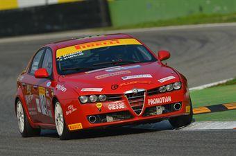 Semeraro Scarpellini (PBS Team, Alfa Romeo 159 #119) , TCR ITALY TOURING CAR CHAMPIONSHIP