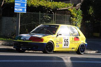 Antonino Oddo (Vimotorsport, Peugeot 106 Rally # 55, CAMPIONATO ITALIANO VELOCITÀ MONTAGNA