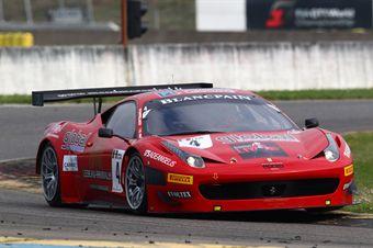 Enzo Ide (BEL) Francesco Castellacci (ITA), Ferrari 458 Italia GT3 AF Corse, ITALIAN GRAN TURISMO CHAMPIONSHIP