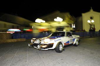 Maurizio Amanti Rita Masi (Triumph TR7 # 88), CAMPIONATO ITALIANO RALLY AUTO STORICHE