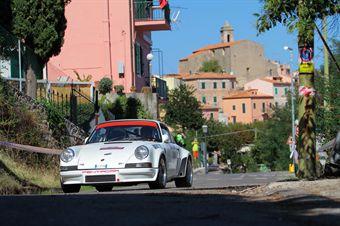 Andyson Piero Ricchetta (Rododendri Historic Rally, Porsche 911 T # 49), CAMPIONATO ITALIANO RALLY AUTO STORICHE