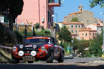 Claudio Arena Antonio Mancuso (ASPAS, Fiat 124 Abarth Rally # 91), CAMPIONATO ITALIANO RALLY AUTO STORICHE