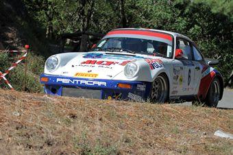 Enrico Brazzoli aurizio Barone (Rododendri Historic Rally, Porsce 911 S # 6), CAMPIONATO ITALIANO RALLY AUTO STORICHE