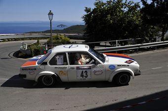 Roberto Bussotti Paolo Villini 8Team assano, Opel Ascona SR # 43), CAMPIONATO ITALIANO RALLY AUTO STORICHE