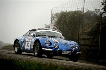 Luigi Capsoni Lucia Zambiasi (SPAS, Alpine Renault A 110 # 35), CAMPIONATO ITALIANO RALLY AUTO STORICHE