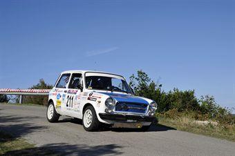Enzo Concini Corrado Baldo (Team Bassano, Autobianchi A 112 Abarth # 211), CAMPIONATO ITALIANO RALLY AUTO STORICHE