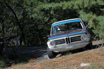 Pietro Corredig Sonia Borghese (BMW 2002 TI # 32), CAMPIONATO ITALIANO RALLY AUTO STORICHE