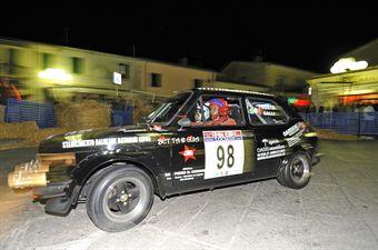 Marino Costa Giani Galli (Rosso Rally Team, Fiat 127 Sport # 98), CAMPIONATO ITALIANO RALLY AUTO STORICHE