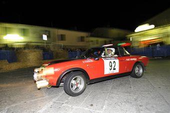 Massimo Giuliani Claudia Sora (Scaligera Rally, Lancia Fulvia HF 1,3 # 93), CAMPIONATO ITALIANO RALLY AUTO STORICHE