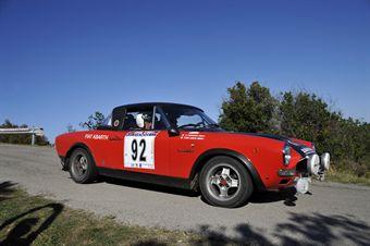 Francesco De Luca Paola Ferrari (Tricolore, Fiat 124 Abarth Rally # 92), CAMPIONATO ITALIANO RALLY AUTO STORICHE
