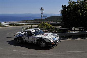 arco Domenicali Giuseppe Mancuso (Piacenza Corse, Porsce 911 SC # 9), CAMPIONATO ITALIANO RALLY AUTO STORICHE