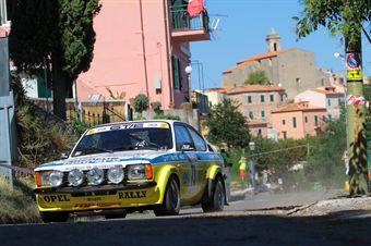Giacomo Domenichini Diego D'Herin (Team Bassano, Opel Kadett GTE # 73), CAMPIONATO ITALIANO RALLY AUTO STORICHE