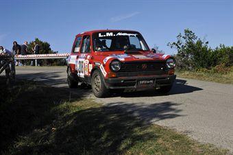 Orazio Droandi Fabio Matini (Etruria SCRL, Autobianchi A 112 Abarth # 208), CAMPIONATO ITALIANO RALLY AUTO STORICHE