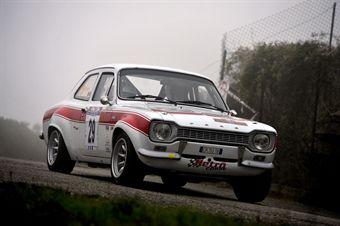 Maurizio Elia Flavio Zanella (Rododentri Historic Rally,Ford Escort RS # 29), CAMPIONATO ITALIANO RALLY AUTO STORICHE