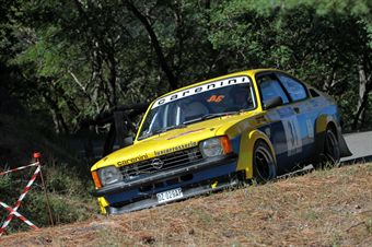 Alessandro Fontana Piero Vianello (Club 91 Squadra Corse, Opel Kadett GTE # 34), CAMPIONATO ITALIANO RALLY AUTO STORICHE