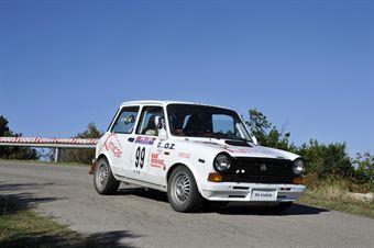 Efisio Gamba Maurizio Olla (Rosso ally Team, Autobianchi A 112 Abarth  99), CAMPIONATO ITALIANO RALLY AUTO STORICHE