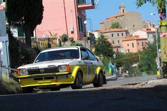 Paolo Gargnani Sandro Sanesi (Opel Kadett GTE # 89), CAMPIONATO ITALIANO RALLY AUTO STORICHE