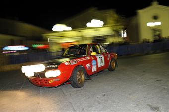 Marco Garullo Simona Calandrriello (Team Bassano, Lancia Fulvia 1,6 HF # 76), CAMPIONATO ITALIANO RALLY AUTO STORICHE