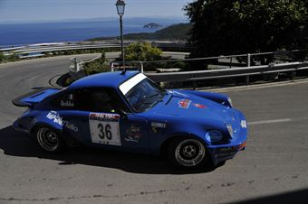 Emanuele Gianotti Loris Robba (Team Bassano, Porsche 911 RS # 36), CAMPIONATO ITALIANO RALLY AUTO STORICHE