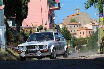 Massimo Giudicelli Alessandro Massaro (Team Bassano, Volkswagen Golf TI # 78), CAMPIONATO ITALIANO RALLY AUTO STORICHE