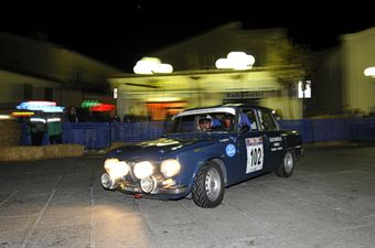 Alberto Gragnani Stefano Santucci (eam Bassano, Alfa Romeo Giulia 1,3 TI # 102), CAMPIONATO ITALIANO RALLY AUTO STORICHE