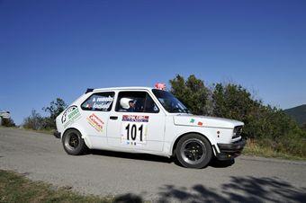 Lo Ciao Daniel Giudici (osso Rally Team, Fiat 127 Sport # 101), CAMPIONATO ITALIANO RALLY AUTO STORICHE