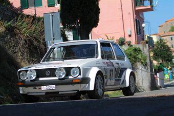 Marco Manetti Giuseppe Bonanno (Elba Racing Team, olkwagen Golf GTI  87), CAMPIONATO ITALIANO RALLY AUTO STORICHE