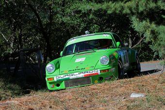 Luigi Marchionni Romano Belfiore (Promosport Racing, Porsche 911 RS # 27), CAMPIONATO ITALIANO RALLY AUTO STORICHE