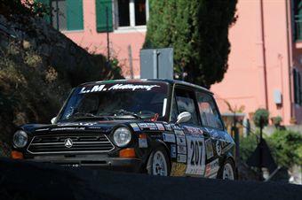 Francesco Mearini Massimo Acciai (Senesi Team, Autobianchi A112 Abarth # 207, CAMPIONATO ITALIANO RALLY AUTO STORICHE