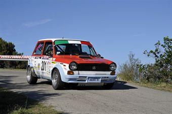 Meggiarin Lisa Anna  Ferro (Team Bassano, Autobianchi A112 Abarth # 201), CAMPIONATO ITALIANO RALLY AUTO STORICHE