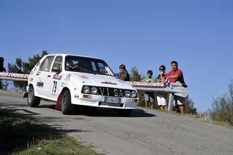 Natalino Melani Carlo Adriani (Elba Racing Team, Citroen Visa # 79), CAMPIONATO ITALIANO RALLY AUTO STORICHE