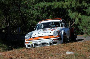 Roberto Montini Giovanni Mattanza (eam Bassano, Porsche 911 SC # 12), CAMPIONATO ITALIANO RALLY AUTO STORICHE