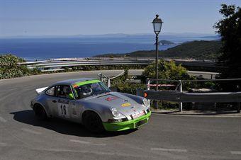 Graziano Muccioli Luisa Zumelli Rally Club Sandro Munari, Porsche 911 RS # 16), CAMPIONATO ITALIANO RALLY AUTO STORICHE