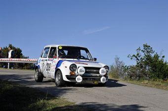 Giancarlo Nardi Paola Costa (Team Bassano, Autobianchi A 112 Abarth # 209), CAMPIONATO ITALIANO RALLY AUTO STORICHE