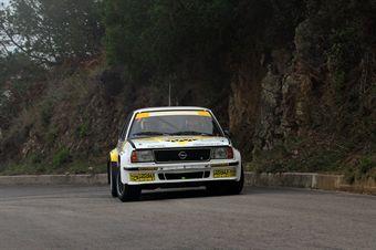 Massimo Nori Diego Rodeghiero (Team Bassano, Opel Ascona 400 # 28), CAMPIONATO ITALIANO RALLY AUTO STORICHE