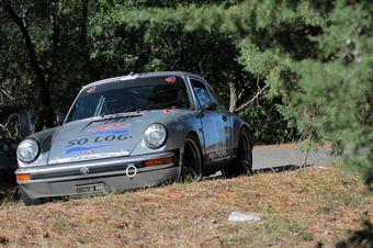 Giulio Oberti Luca Oberti (Wheels on Gravel, Porsche 911 SC # 38), CAMPIONATO ITALIANO RALLY AUTO STORICHE