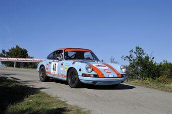 Maurizio Pagella Roberto Brea (Rododendri Historic Rally, Porsche 911 S # 48), CAMPIONATO ITALIANO RALLY AUTO STORICHE