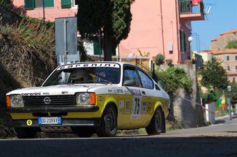 Sergio Paiusco Simone Belloni (Vierre Corse, Opel Kadett GTE # 75), CAMPIONATO ITALIANO RALLY AUTO STORICHE