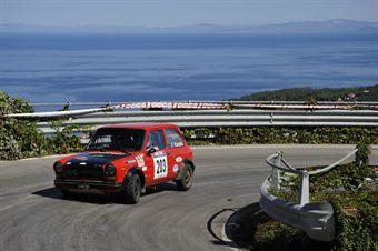Franco Panato Marco Comunello (Team Bassano, Autobianchi A112 Abarth # 203), CAMPIONATO ITALIANO RALLY AUTO STORICHE