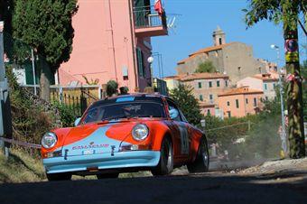 Oreste Pasetto Battista Brunetta (Rally Club Sandro Munari, Porsche 91 S # 41), CAMPIONATO ITALIANO RALLY AUTO STORICHE