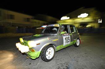 Fabrizio Pierucci MOonica Buonamano (Autobianchi A 112 Abarth # 106), CAMPIONATO ITALIANO RALLY AUTO STORICHE