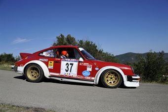 Luigi Rocchetto Roberto Rigoni (Team Bassano, Porsche 911 SC # 37), CAMPIONATO ITALIANO RALLY AUTO STORICHE
