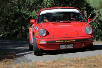 Alessandro Russo Francesco Samicheli (Rododendri istoric Club, Porsche 911 SC #  23), CAMPIONATO ITALIANO RALLY AUTO STORICHE