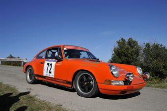 Giuseeppe Salerno Fabrizio Fecarotta (Gruppo Trinacria Corse, Porsch 911 S # 72), CAMPIONATO ITALIANO RALLY AUTO STORICHE